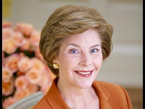 Laura Bush - White House Correspondents Dinner