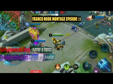 FRANCO HOOK MONTAGE 2   SOLO RANK DOUBLE MM