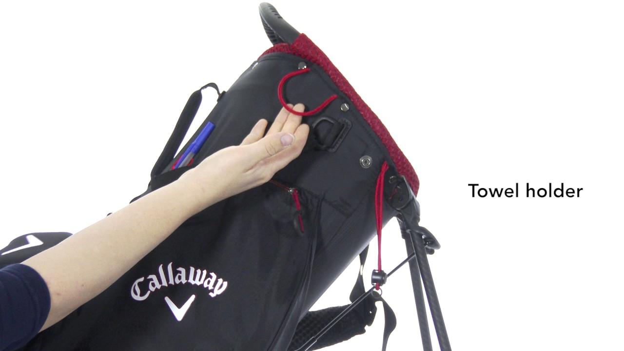 Callaway 2017 Hyper Lite Zero Stand Bag Youtube