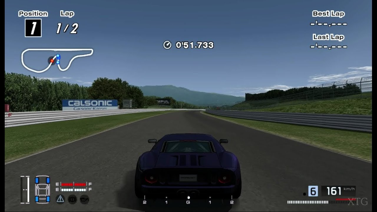 Gran Turismo  Ford Gt  Hybrid Ps Gameplay Hd