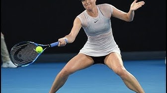 WTA Shot of the Month, February 2018 | Maria Sharapova