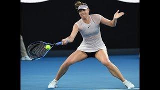 WTA Shot of the Month, February 2018   Maria Sharapova
