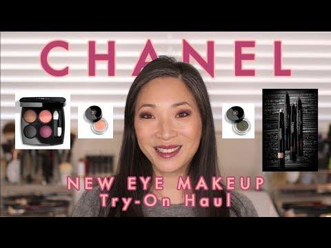 CHANEL - New Eye Makeup Try-On Haul!