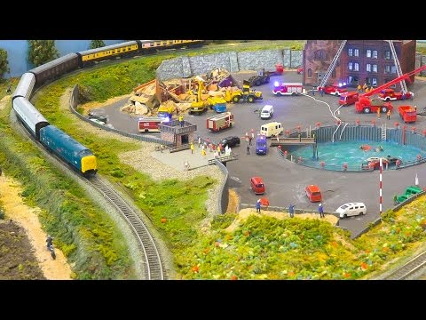 MODEL RAILROAD N SCALE AMC AUTHENTIC MODELLBAU CLUB / Modell Süd Stuttgart 2016