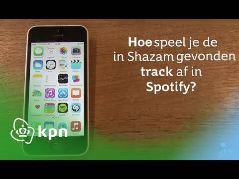 KPN Social Service Video - Spotify: hoe speel je de in Shazam gevonden track af in Spotify?