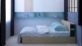 Dizayn 1-bedroom xonadonlar