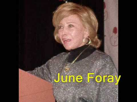 Interviews With Cartoon Greats June Foray & Paul Winchell