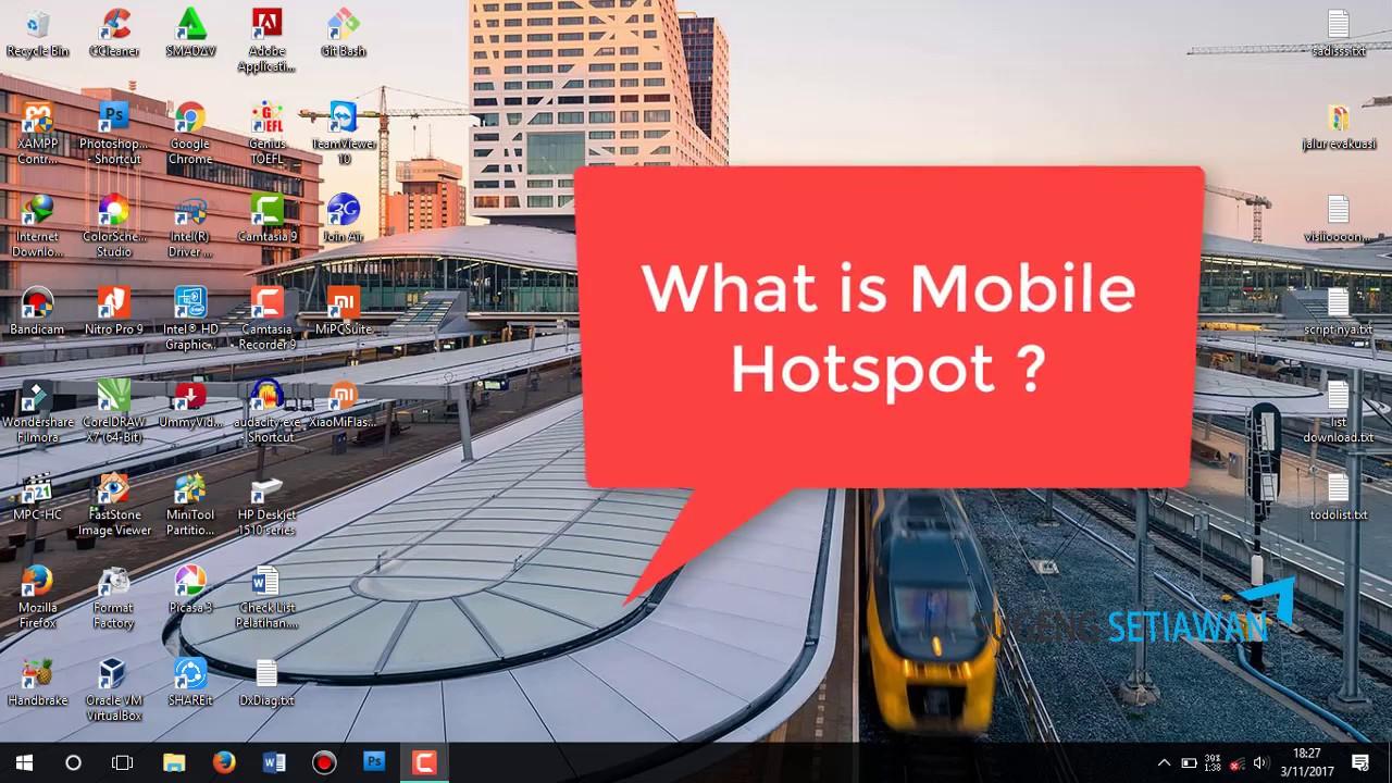 how to create mobile hotspot windows 8