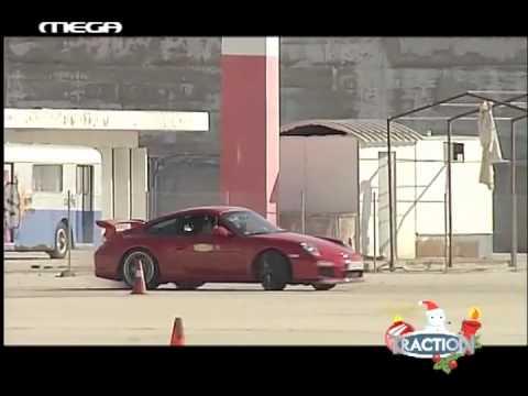 Porsche 911 GT3 @ Greek tv show