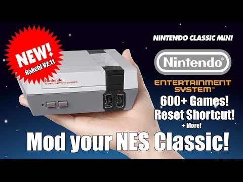 Mod your NES Classic! - New Version! 600+ Games