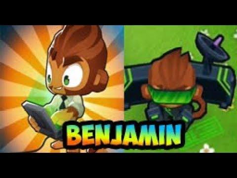 Bloons TD 6 - NEW HERO - BENJAMIN