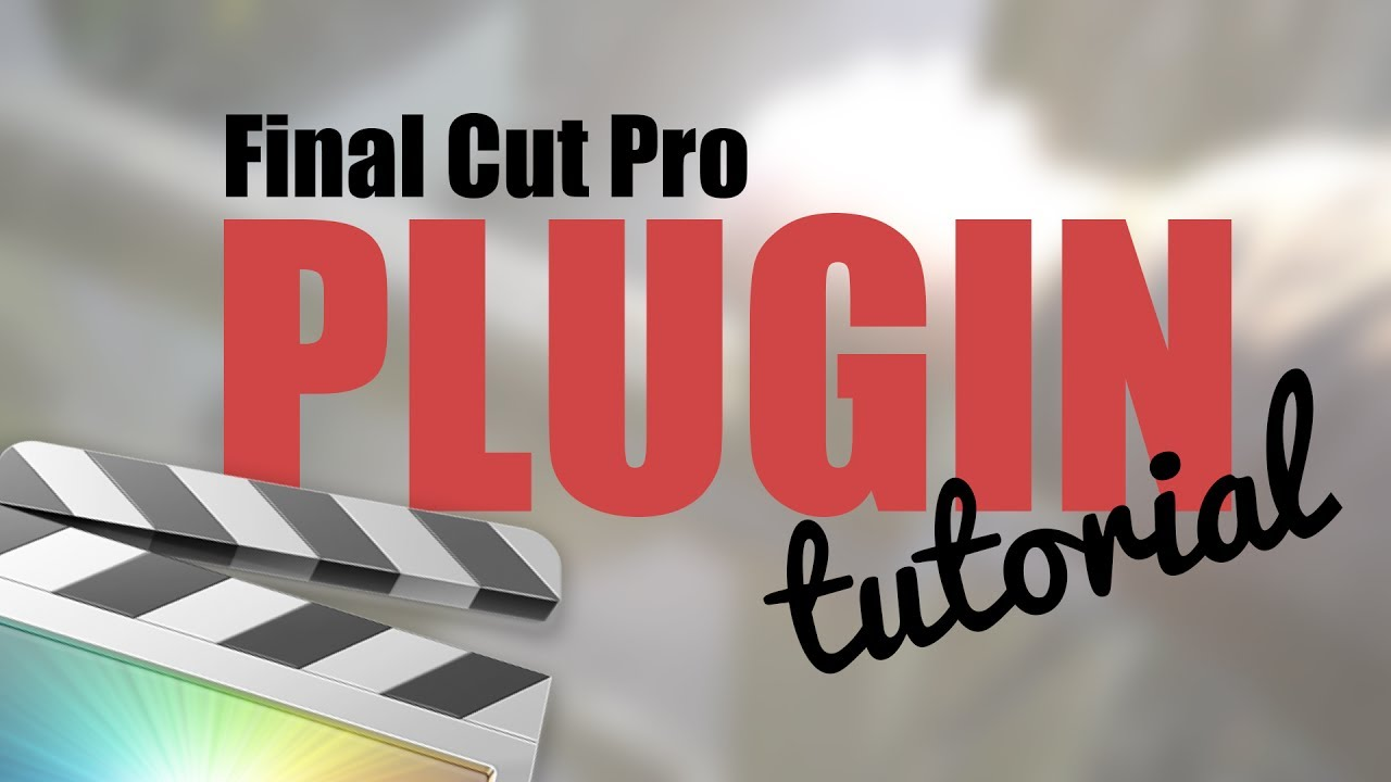 How To Easily Install Final Cut Pro X Plugins + FREE Drawing Effect  Download // FCPX Tutorial