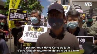 HK : La France soutient « un pays, deux systèmes » @NTD Français