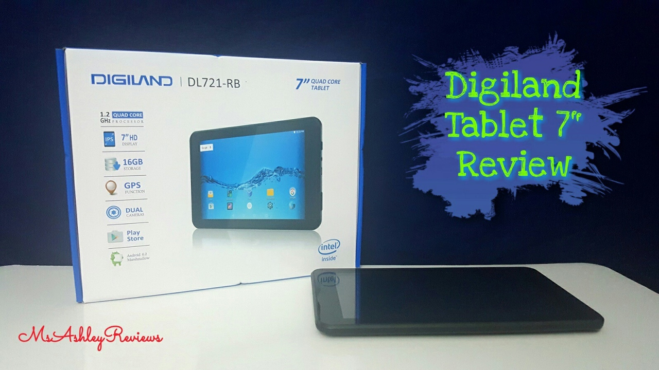 DigiLand 9 16GB Android DVD Player/Tablet w/Earbuds by HSNtv