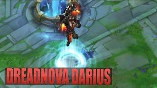 DREADNOVA DARIUS Skin Gameplay Spotlight - League of Legends