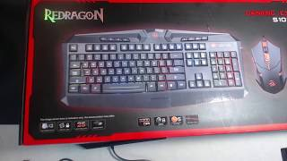 Redragon Gaming Essentials S101 Keyboard/Mouse 2 in 1 Set Review