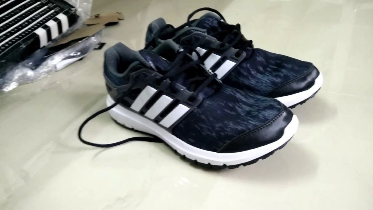 wholesale dealer d8d6d 9d127  UnBoxing adidas Men s Energy Cloud M Cblack, Ftwwht and Utiivy Running  Shoes