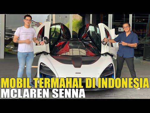 SULTAN BINTARO DAPAT MOBIL TERMAHAL DI INDONESIA MCLAREN SENNA.. RAFFI AHMAD KALAH TELAK