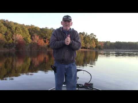 Fishing A Lipless Crankbait At Frank Jackson State Park, Opp AL - Nov 27, 2016