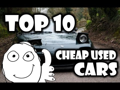 TOP 10 MAD Cheap Used Cars!