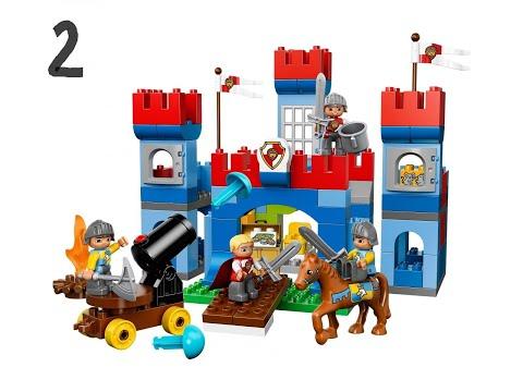 Jak Zbudować Zamek Z Klocków Lego Duplo Youtube
