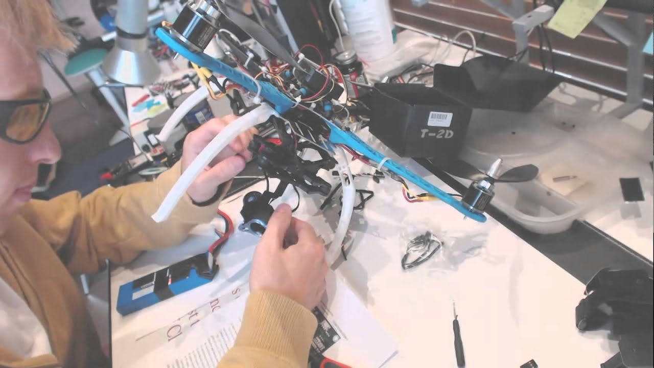 tarot t 2d gimbal install on a drone wiring connections diagram rh youtube com quadcopter esc wiring quadcopter ardupilot wiring diagrams [ 1280 x 720 Pixel ]