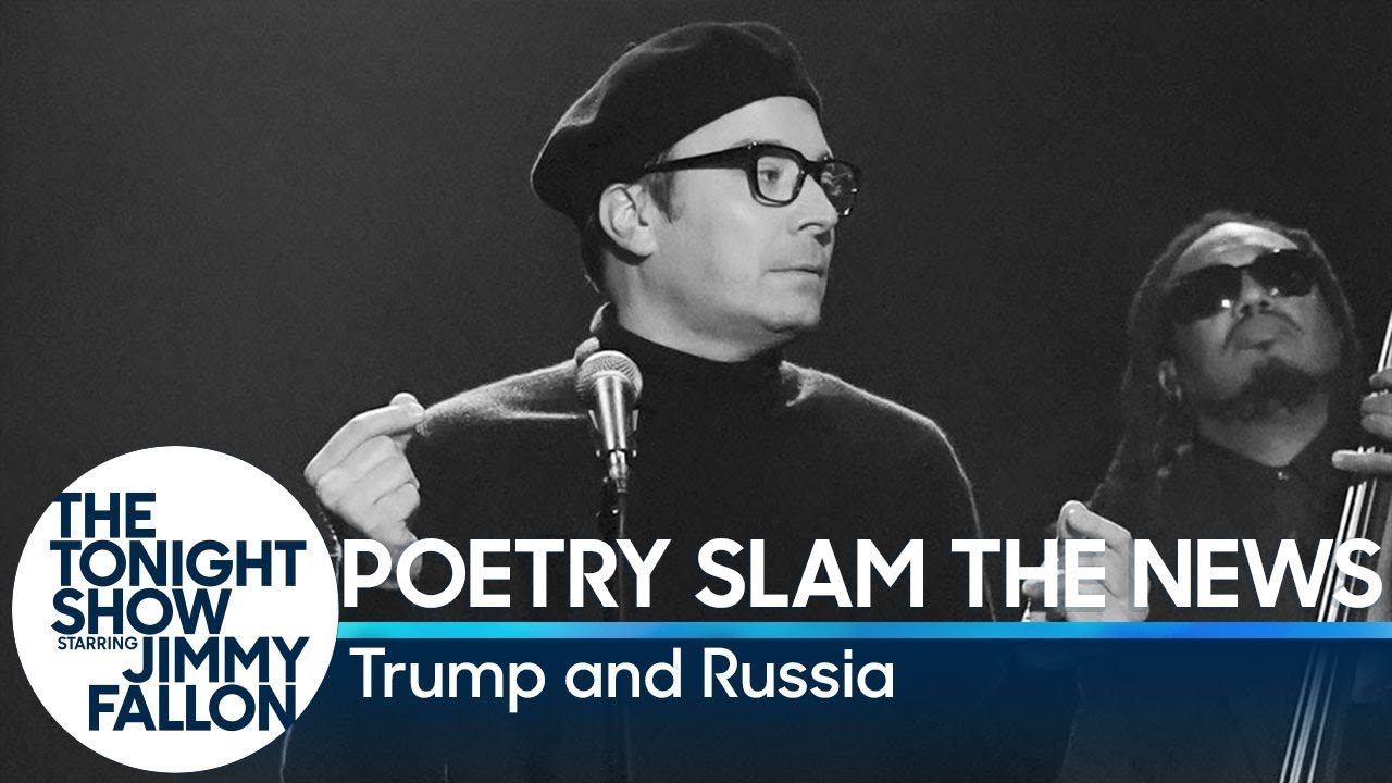 Poetry Slam the News: Trump and Russia