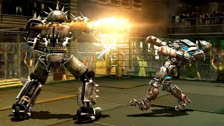 REAL STEEL WRB Hollowjack VS Atom & Dreadlord & Camelot & Nitro