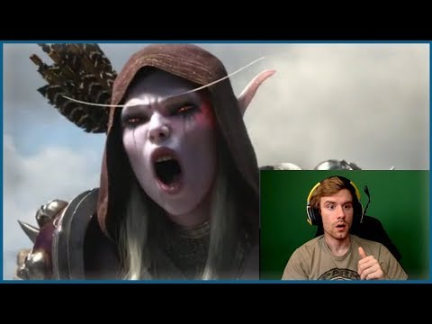Blizzcon 2017 New WoW Expansion Cinematic Reaction | World of Warcraft Classic Server Reaction