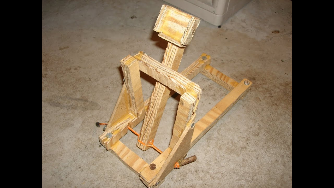 Popsicle Band Stick Rubber Ballista