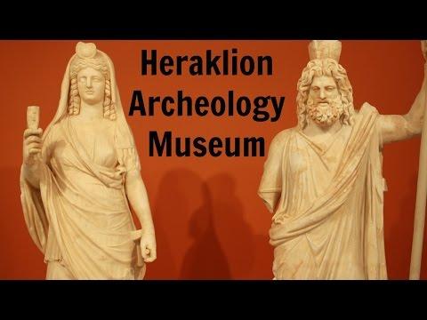 GREECE: Heraklion Archeology Museum