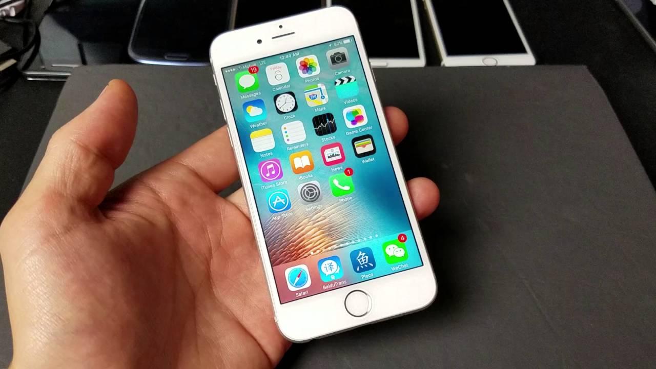 Updating iphones through wi fi