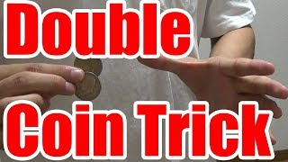 coin tricks revealed/Double Coin Trick/UHM