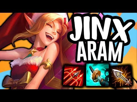 IS JINX THE BEST ADC IN ARAM?! - Jinx ARAM - League of Legends thumbnail