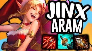 IS JINX THE BEST ADC IN ARAM?! - Jinx ARAM - League Of Legends