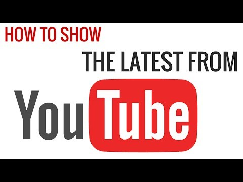 How to Show Latest Videos From a YouTube Channel in WordPress