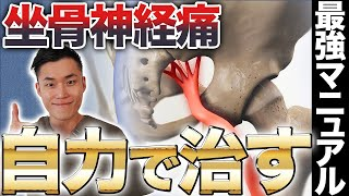 人体解剖をして分かった!坐骨神経痛を自力で治す最強マニュアル!