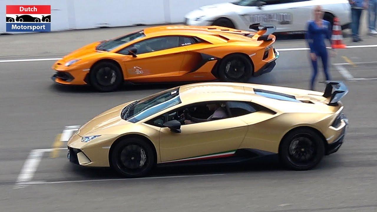 Lamborghini Aventador SVJ vs. Huracan Performante vs ...
