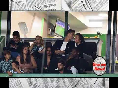 El polémico gesto que hizo la novia de Cristiano Ronaldo  !