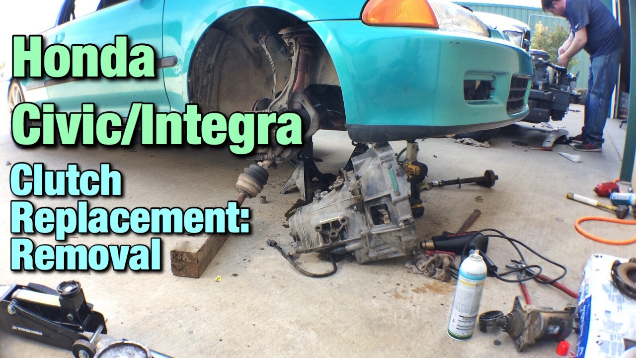 small resolution of honda civic integra clutch replacement removal