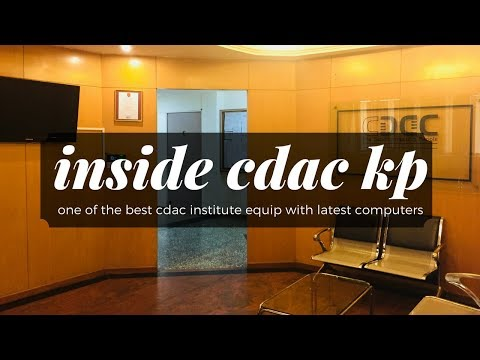 Inside CDAC ACTS Knowledge Park Bangalore