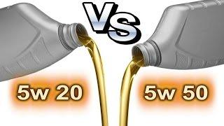 Какое масло лучше 5w20 или 5w50, вода против киселя