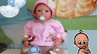 Обложка на видео о Как сделать соску для куклы реборн на магните? Making a Magnetic Dummy for a reborn doll