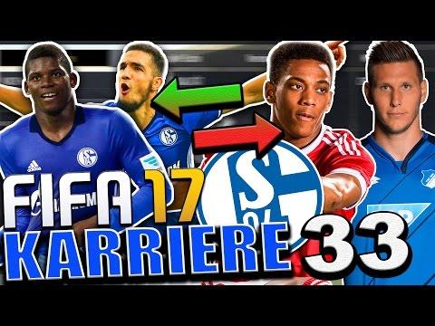 SCHALKER TRANSFER WAHNSINN 🔥!?!🔥   WER MUSS GEHEN ?   FIFA 17 Karrieremodus FC SCHALKE 04 #33