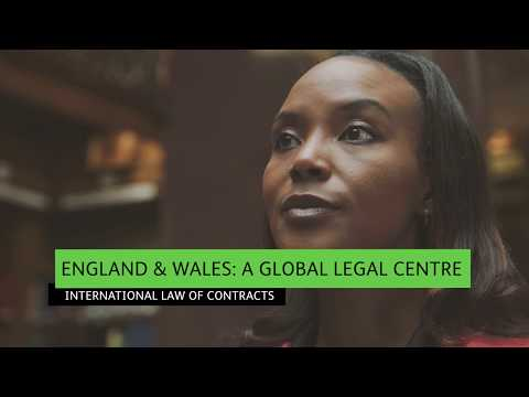Global legal centre - International law of contracts