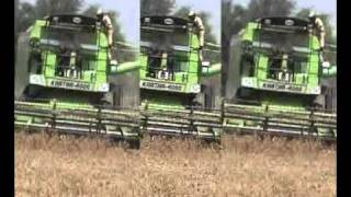 BEST COMBINE HARVESTER IN INDIA...KARTAR 4000....
