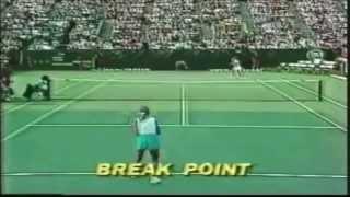 [HD] Best Tennis Point Ever