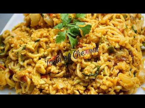 Egg Maggi Noodles Recipe in Tamil | Egg Maggi Masala ...