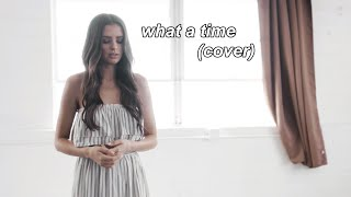 What A Time - Julia Michaels Niall Horan (Cover by Jess Conte)
