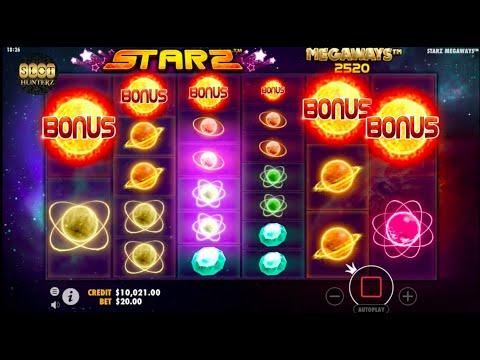 Starz Megaways Bonus Feature (Pragmatic Play)